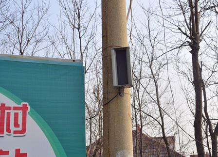 泰山区护林防火指挥部安装森林防火语音提示器